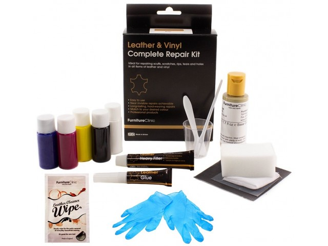 - Quick Fix Kit (Läder & Vinyl)